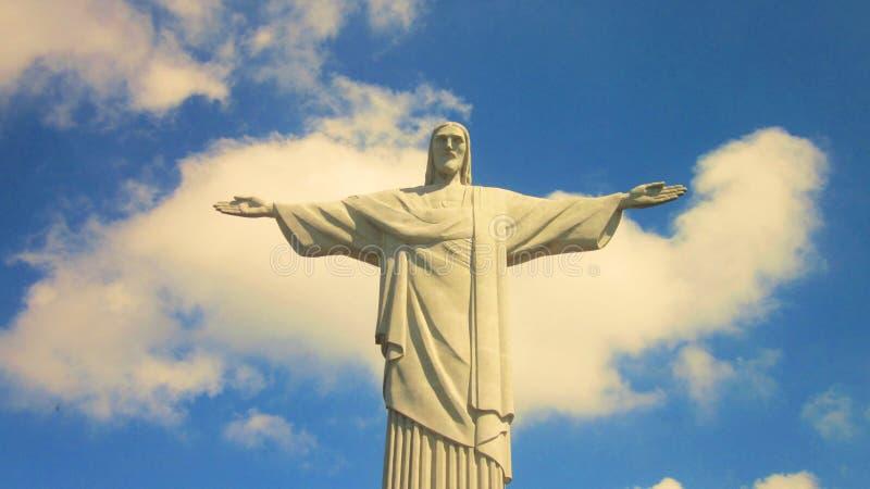 Cristo o Rio do redentor fotografia de stock