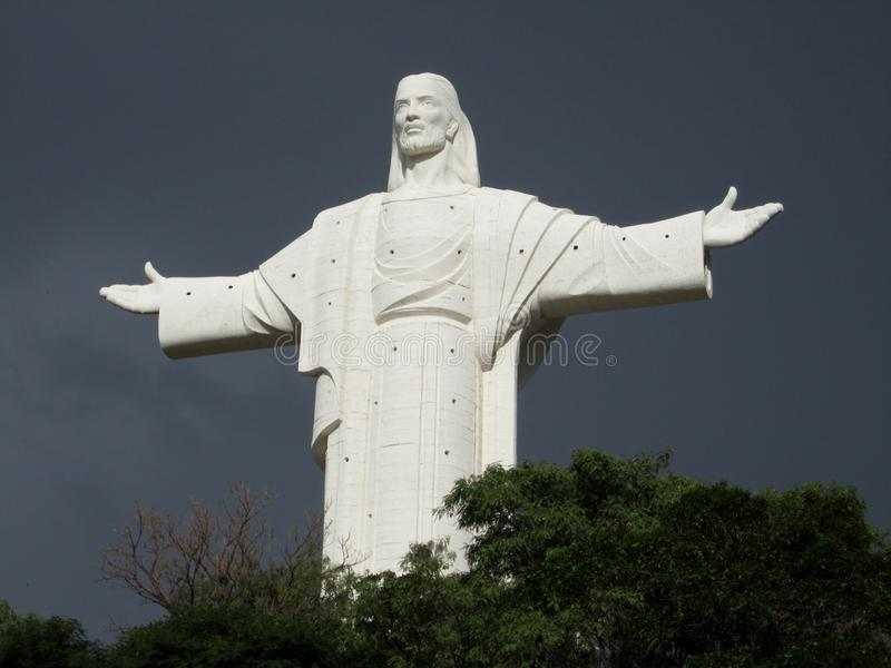Cristo Pagan Statue stock images