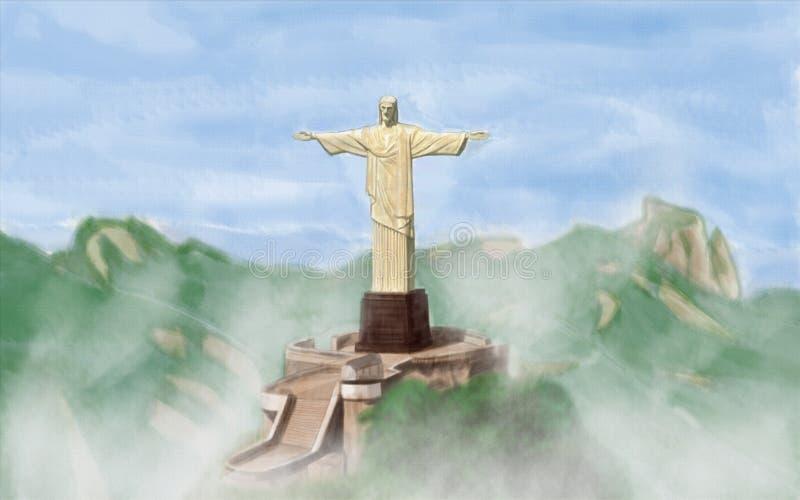 Cristo Redentor бесплатная иллюстрация