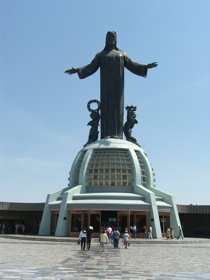 Cristo Rey Leon, Guanajuato México foto de archivo