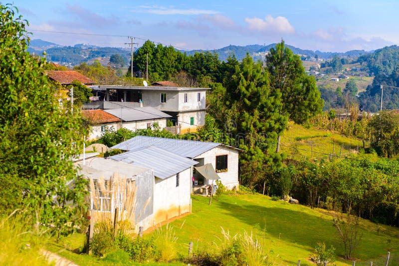 cristobal de-las mexico san för casas fotografering för bildbyråer