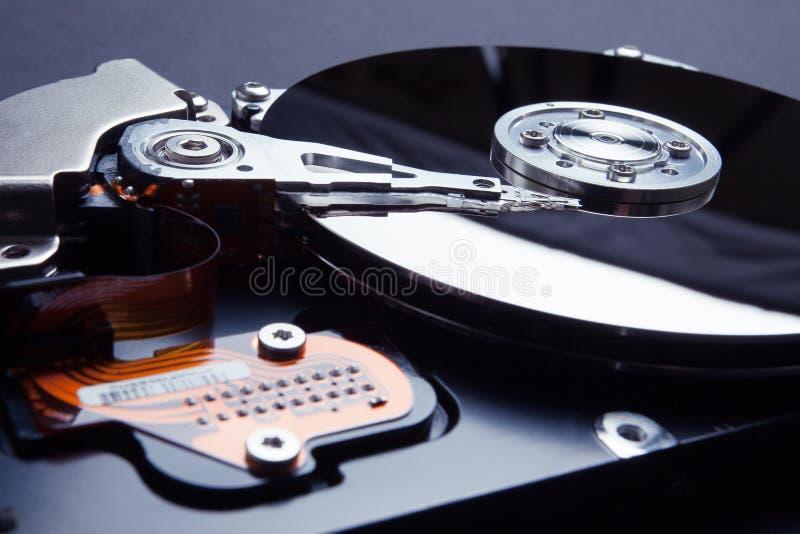 Crittografia di dati sul disco rigido Protezione dei dati personali su Internet immagini stock