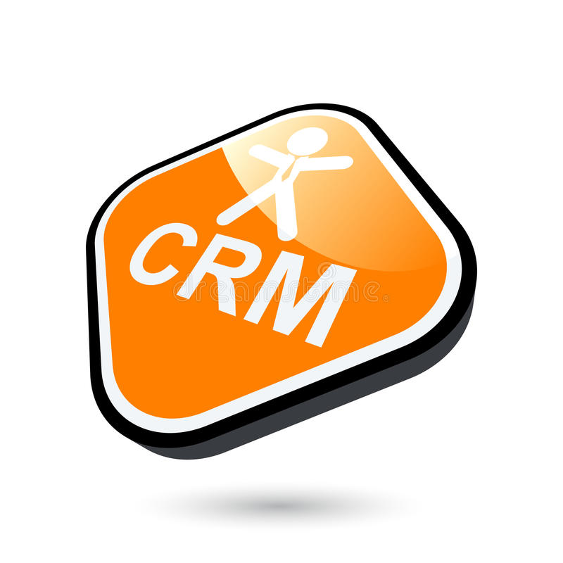 Download CRM Button Stock Images - Image: 12688354