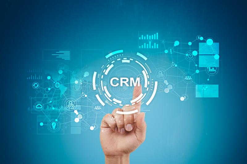 CRM. Customer relationship management concept. Customer service and relationship. CRM. Customer relationship management concept. Customer service and stock photography