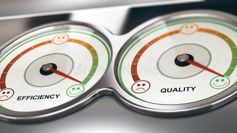 CRM, feedback perfeito do apoio ao cliente, gestão do relacionamento ilustração do vetor