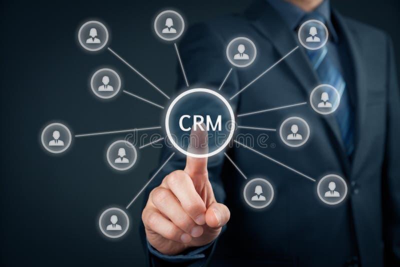 crm klienta zarządzania związek obraz stock