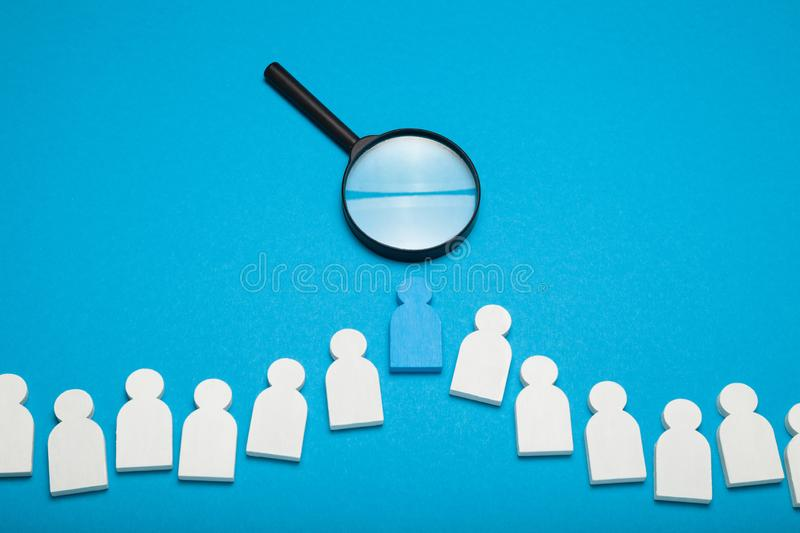 Crm management, person headhunter. Recruit talent hire.  stock images