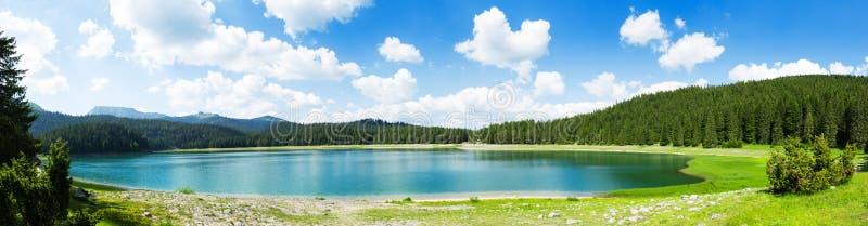 Crno Jezero,黑山 免版税库存照片