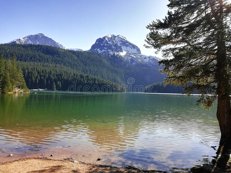 Crno Jezero obraz royalty free