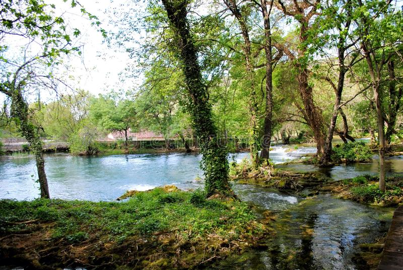 Croácia do parque nacional de Krka foto de stock