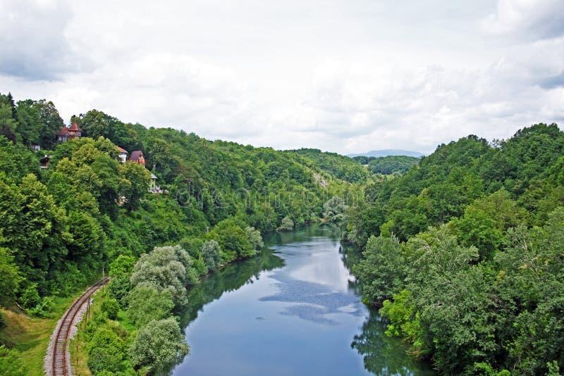 Croácia, Ozalj, 1 imagens de stock royalty free