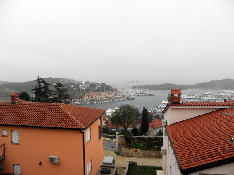 Croacia, Vrsar Orsera, 4 foto de archivo