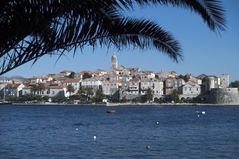 croatia ökorcula royaltyfria bilder