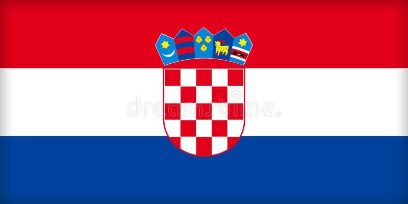Croatia stock de ilustración