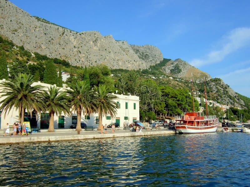 Download Croatia stock photo. Image of time, promenade, spare, clouds - 4347024