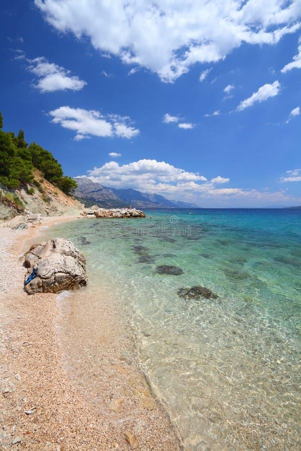 Croatia - Adriatic coast stock photo