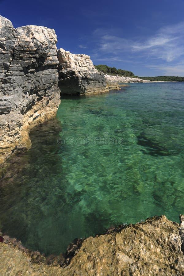 Croatia - Brijun island royalty free stock images