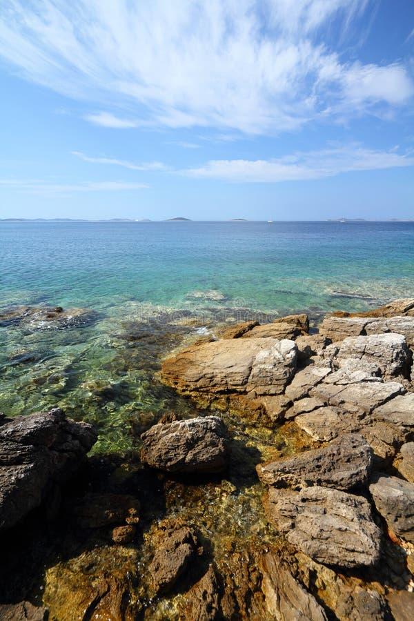 Croatia coast - Murter royalty free stock photos