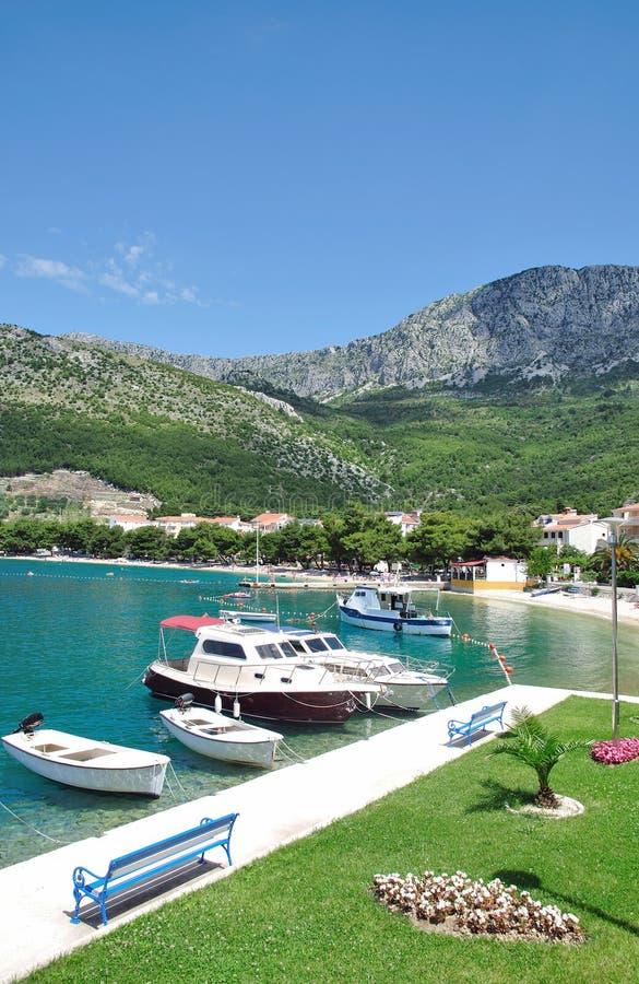 croatia dalmatia drvenikmakarska riviera royaltyfri fotografi