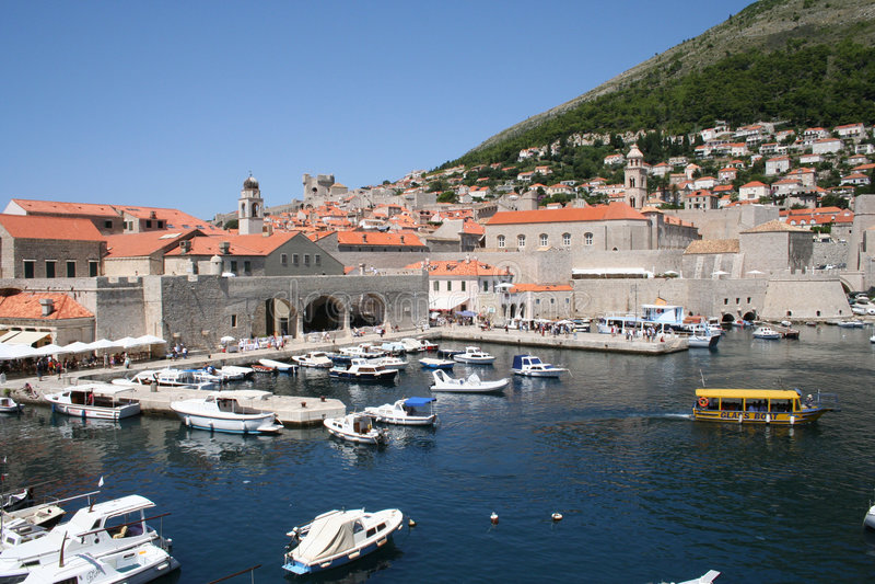 Croatia-Dubrovnik imagen de archivo libre de regalías