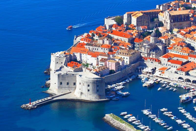 croatia dubrovnik Top beskådar royaltyfria bilder