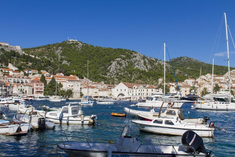 croatia hvar obrazy royalty free