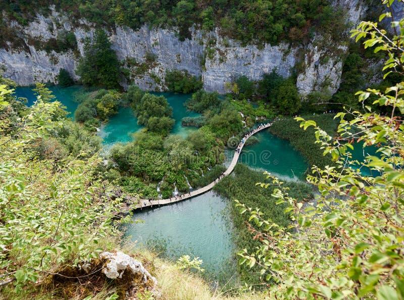 croatia jezior park narodowy plitvice sostavtsy siklawy fotografia royalty free