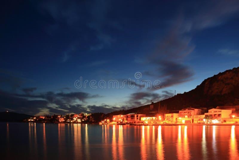 croatia klek sunset στοκ εικόνες με δικαίωμα ελεύθερης χρήσης