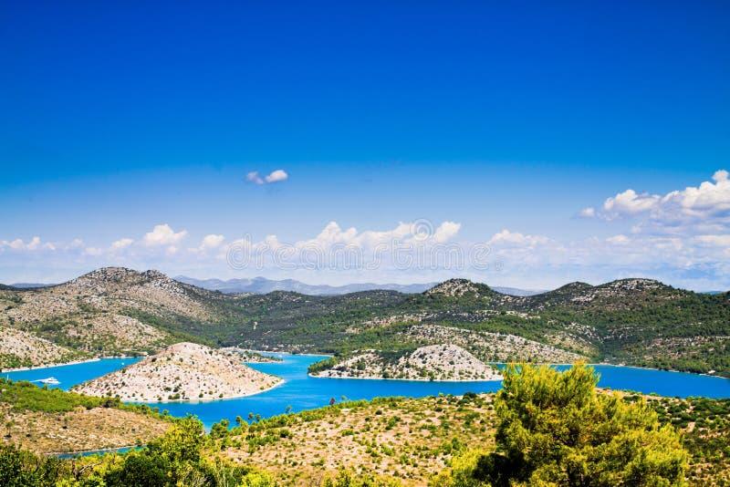 croatia krajobraz fotografia royalty free