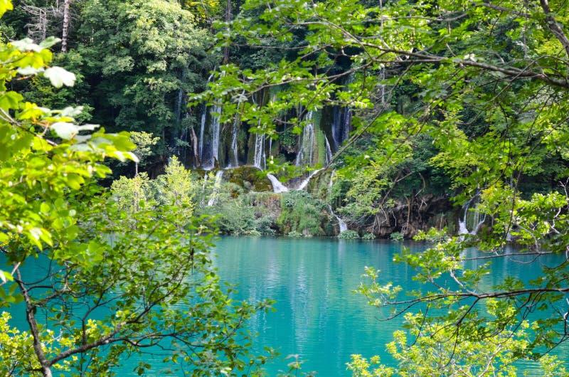 croatia lakesplitvice royaltyfria foton