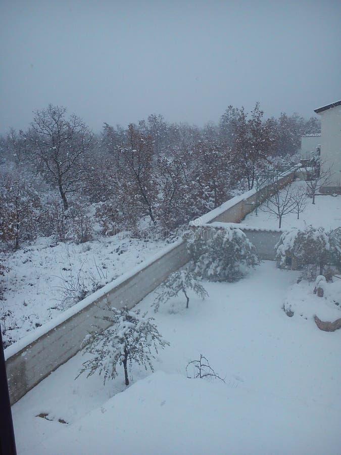 Croatia'n-Winter stockfotos