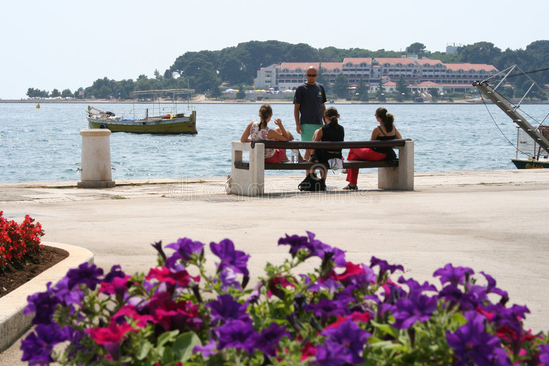 CROATIA-POREC photo libre de droits