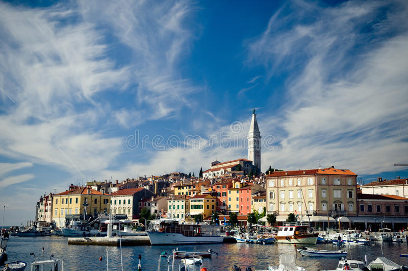 croatia rovinj arkivbild