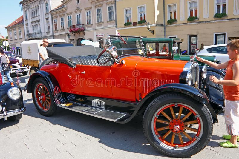 Dodge Roadster, Classic Car royalty free stock photos