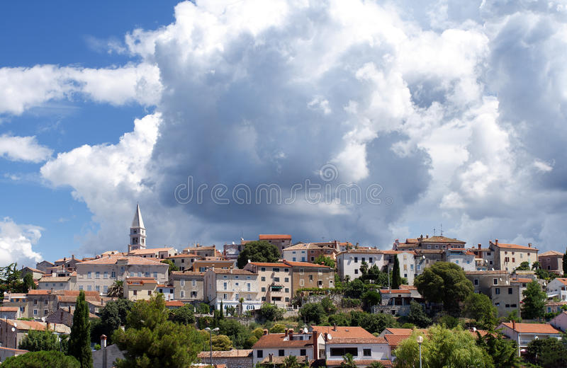 Croatia in the summer stock images