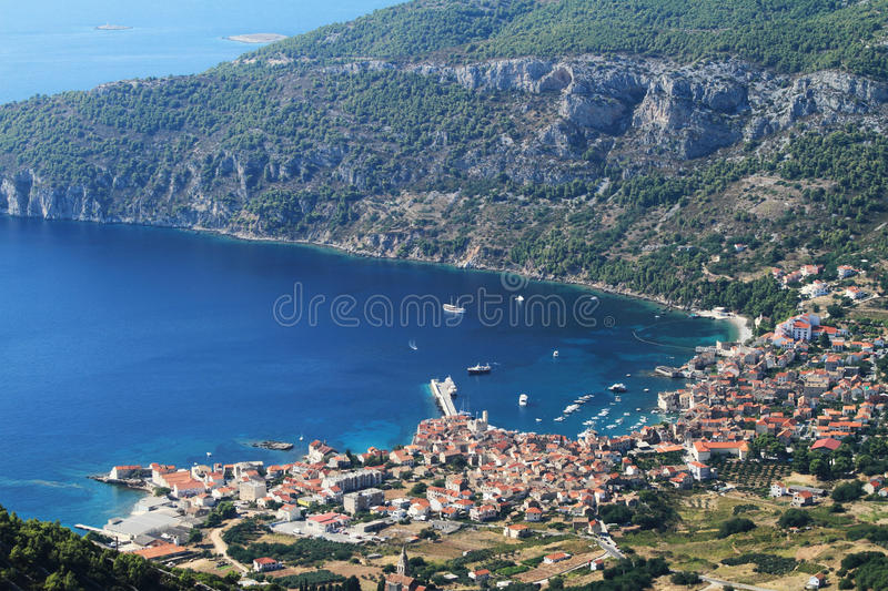 Download Croatia-vis stock photo. Image of boat, coast, city, croatia - 23263050
