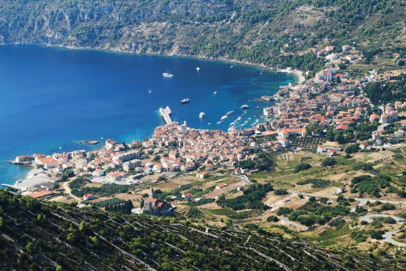 Croatia-vis foto de archivo