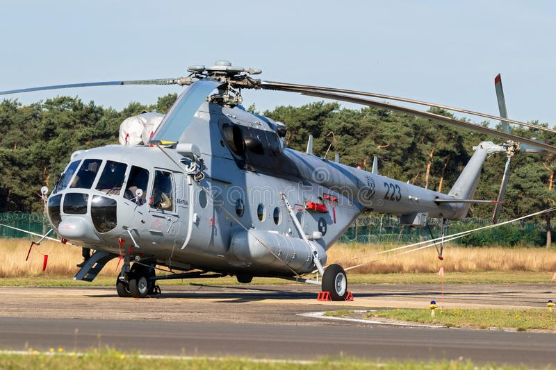 Croatian Air Force Mi-171Sh transport helicopter stock images