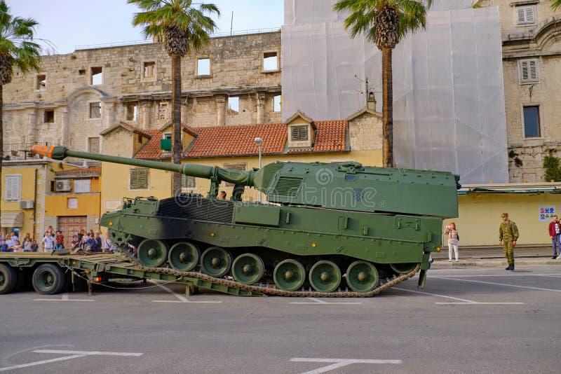 Croatian army festival royalty free stock photos