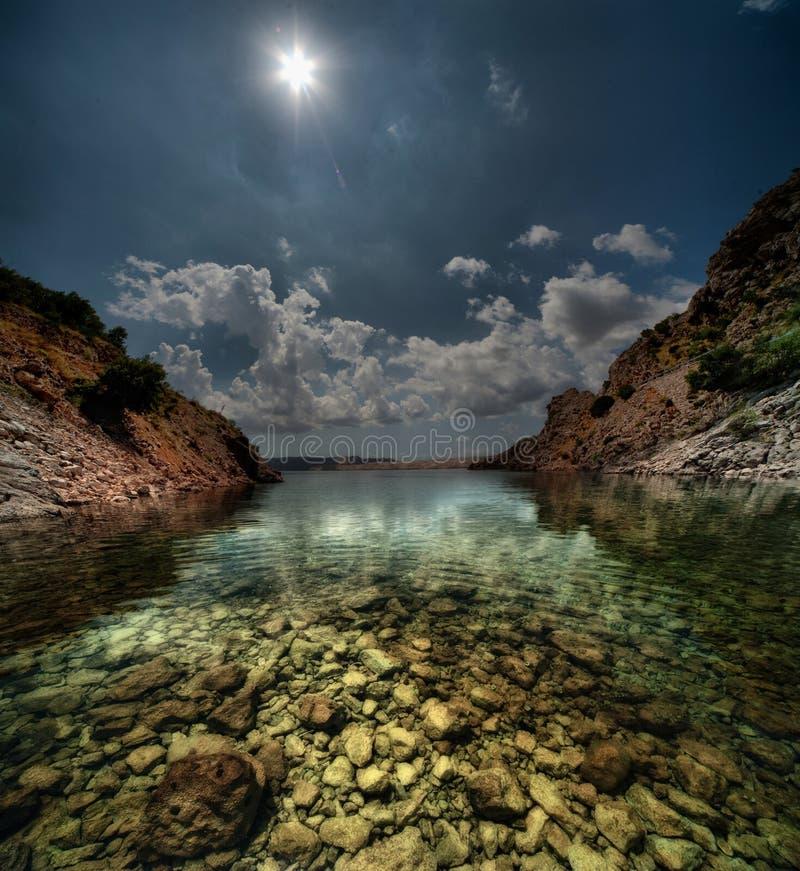 Download Croatian bay stock photo. Image of transquil, croatia - 20595766