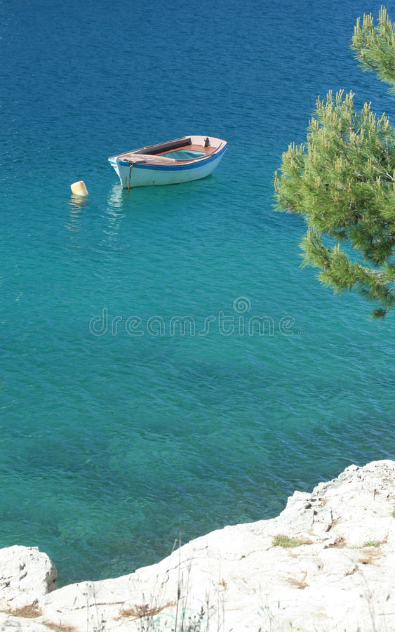 Download Croatian coast stock photo. Image of summer, water, tranquility - 2549132