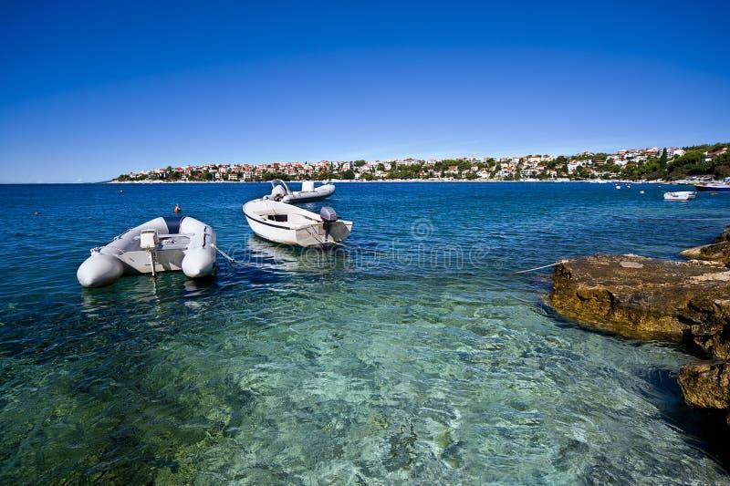 Download Croatian coastline stock image. Image of holidays, sailing - 18036867