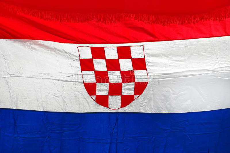 Download Croatian flag stock image. Image of national, yellow - 20426633