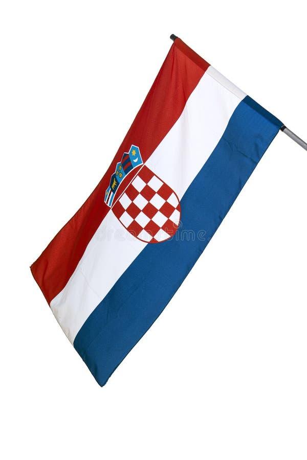 Download Croatian flag stock image. Image of waving, proud, national - 26875503