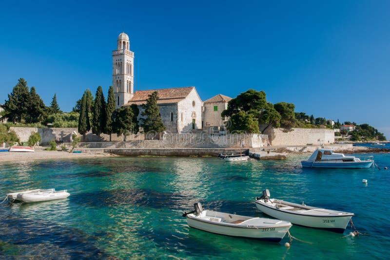 Croatian Harbour Stock Photography