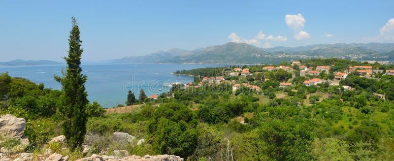 Croatian Island of Kolocep royalty free stock photo