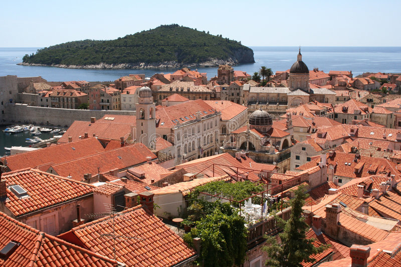 Croatie-Dubrovnik photo stock