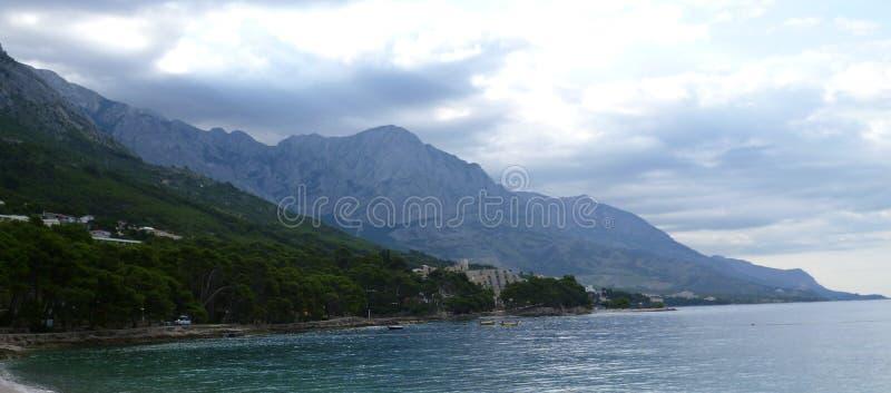Croato Riviera 2 fotografie stock libere da diritti