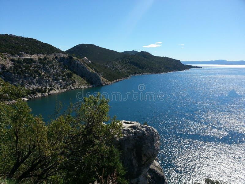 Croazia widzii zdjęcie stock