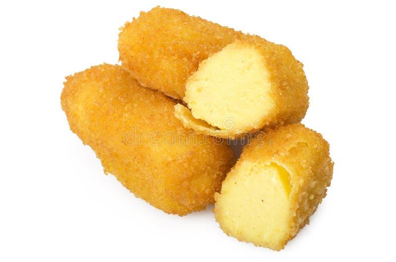 Crocchette della patata fotografia stock